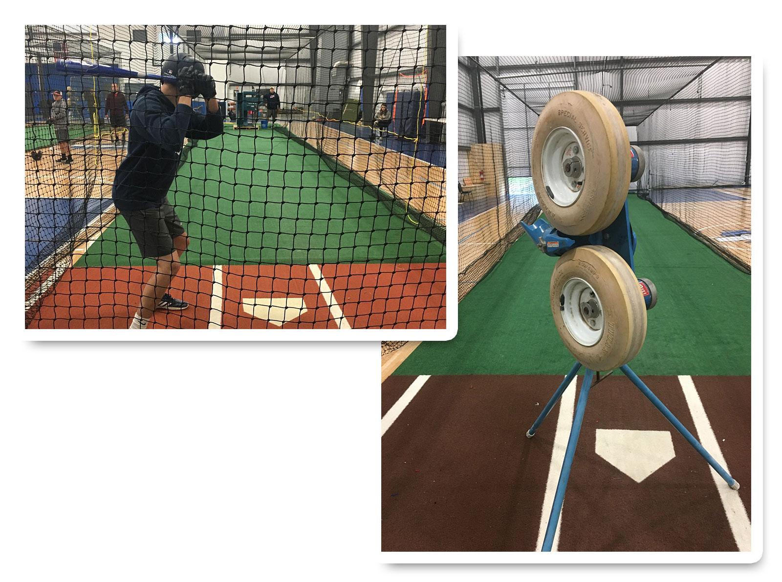Baseball Indoor Training Facility