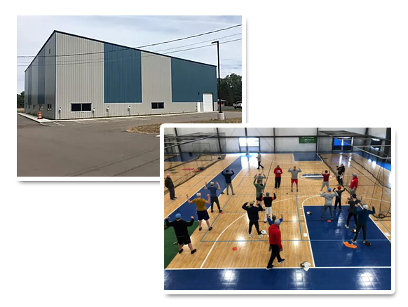 Sports Facility in Paw Paw, Michigan
