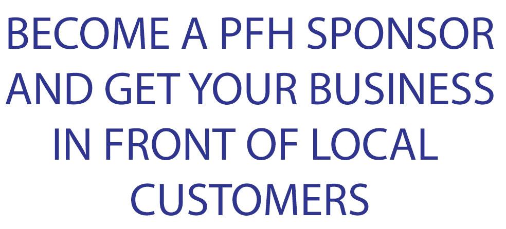 Become a PFH Sponsor