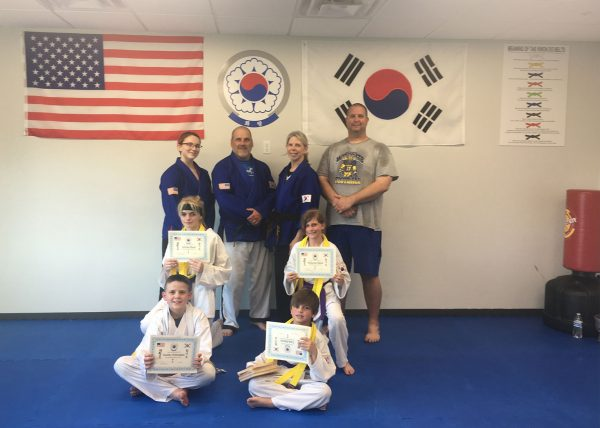 Martial Arts in the Matted Room at PFH