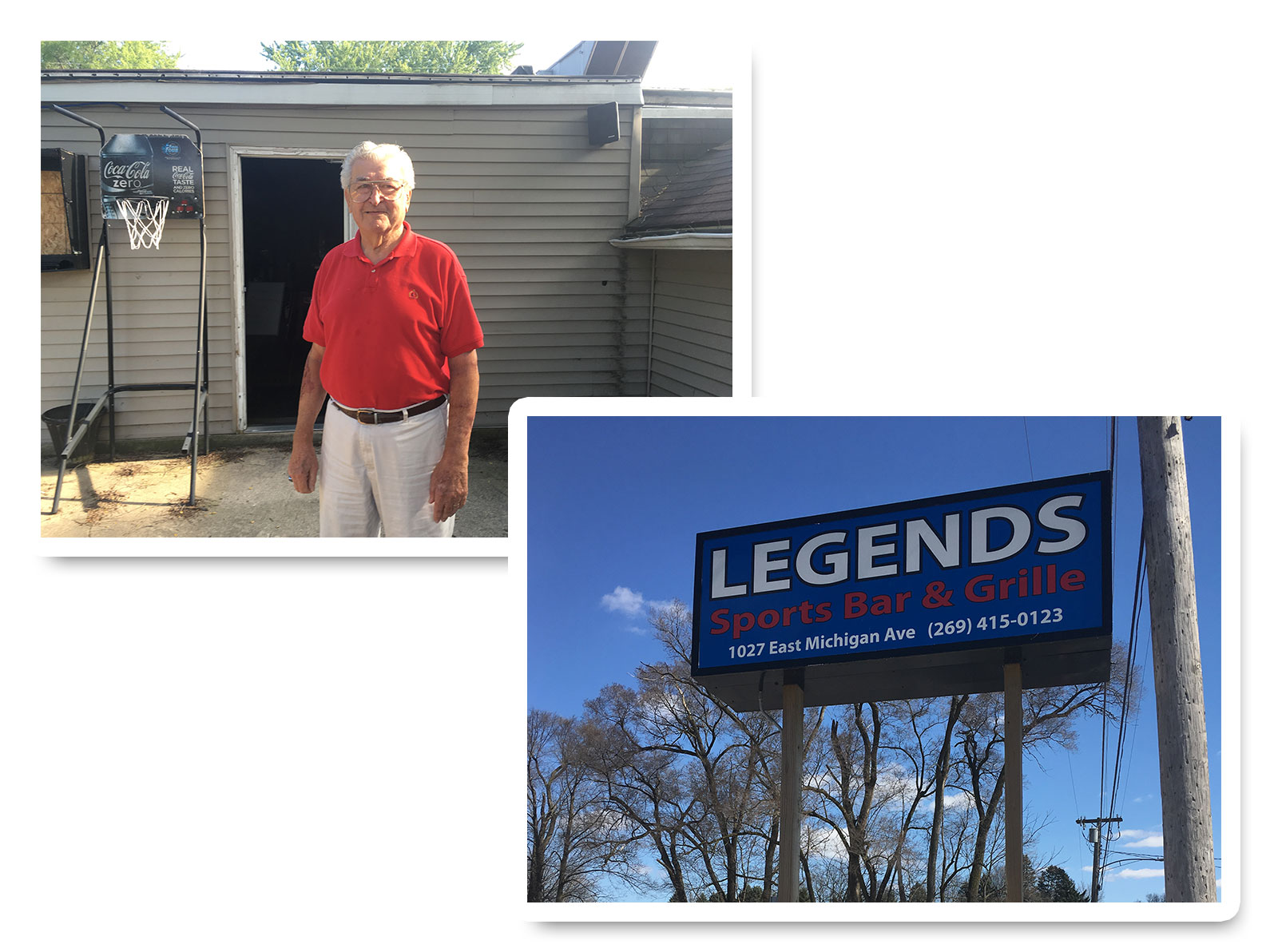 Gene Mitchell - Mitchells Tavern becomes Legends Bar & Grille